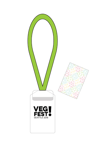 VegFest Festival Pass with Booklet