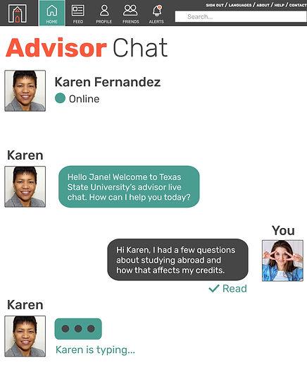 TransferQuest Advisor Chat
