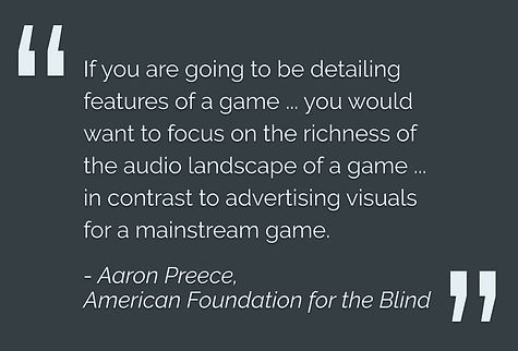 American Federation for the Blind pullquote