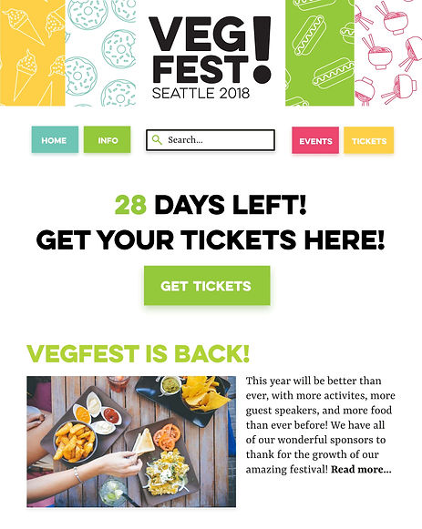 VegFest Desktop Home