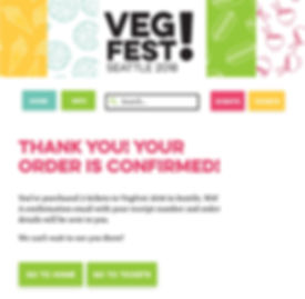 VegFest Desktop Thank You Page