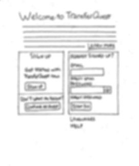TransferQuest Wireframe 1
