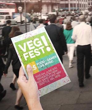 VegFest flyer