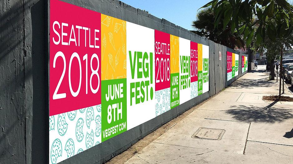 VegFest billboard