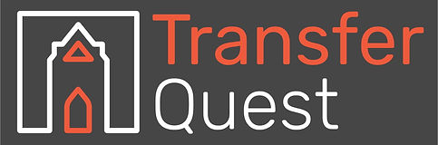 TransferQuest White Logo