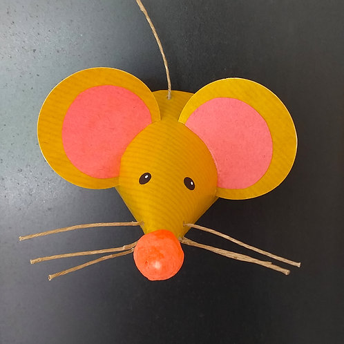 souris moutarde