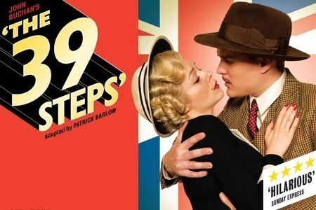 The 39 Steps London Poster