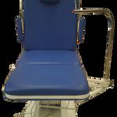 Cabezal c/ corte para facilitar el acceso a la cabeza del paciente