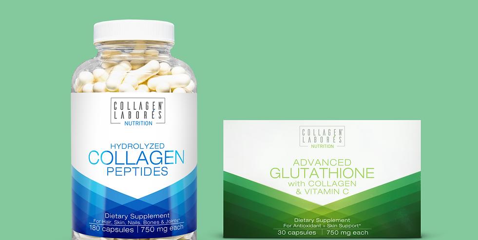 Collagen Capsule & Advanced Glutathione