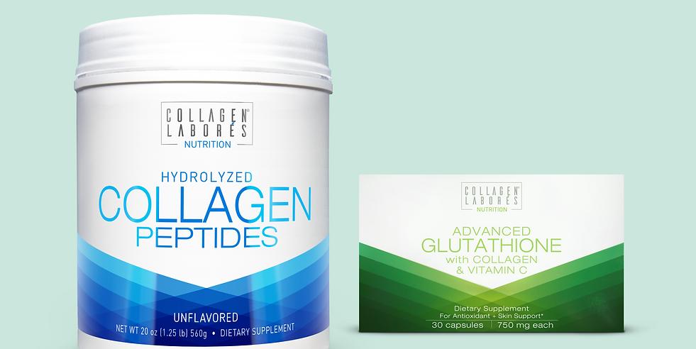 Collagen Powder & Advanced Glutathione