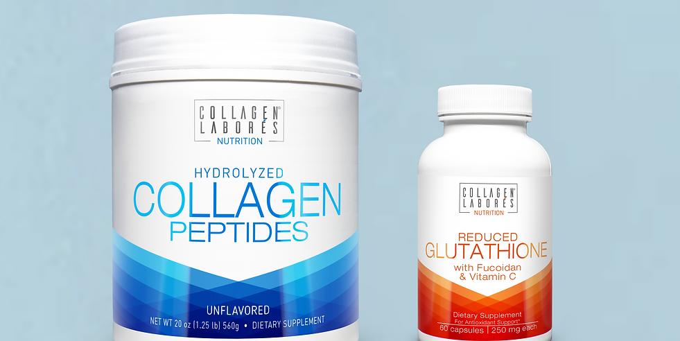 Collagen Powder & Reduced Glutathione