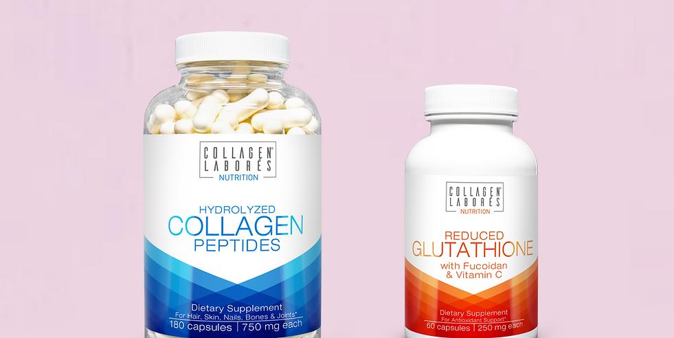 Collagen Capsule & Reduced Glutathione