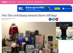EMMY 2018 Closer Sweepstakes 2 09141