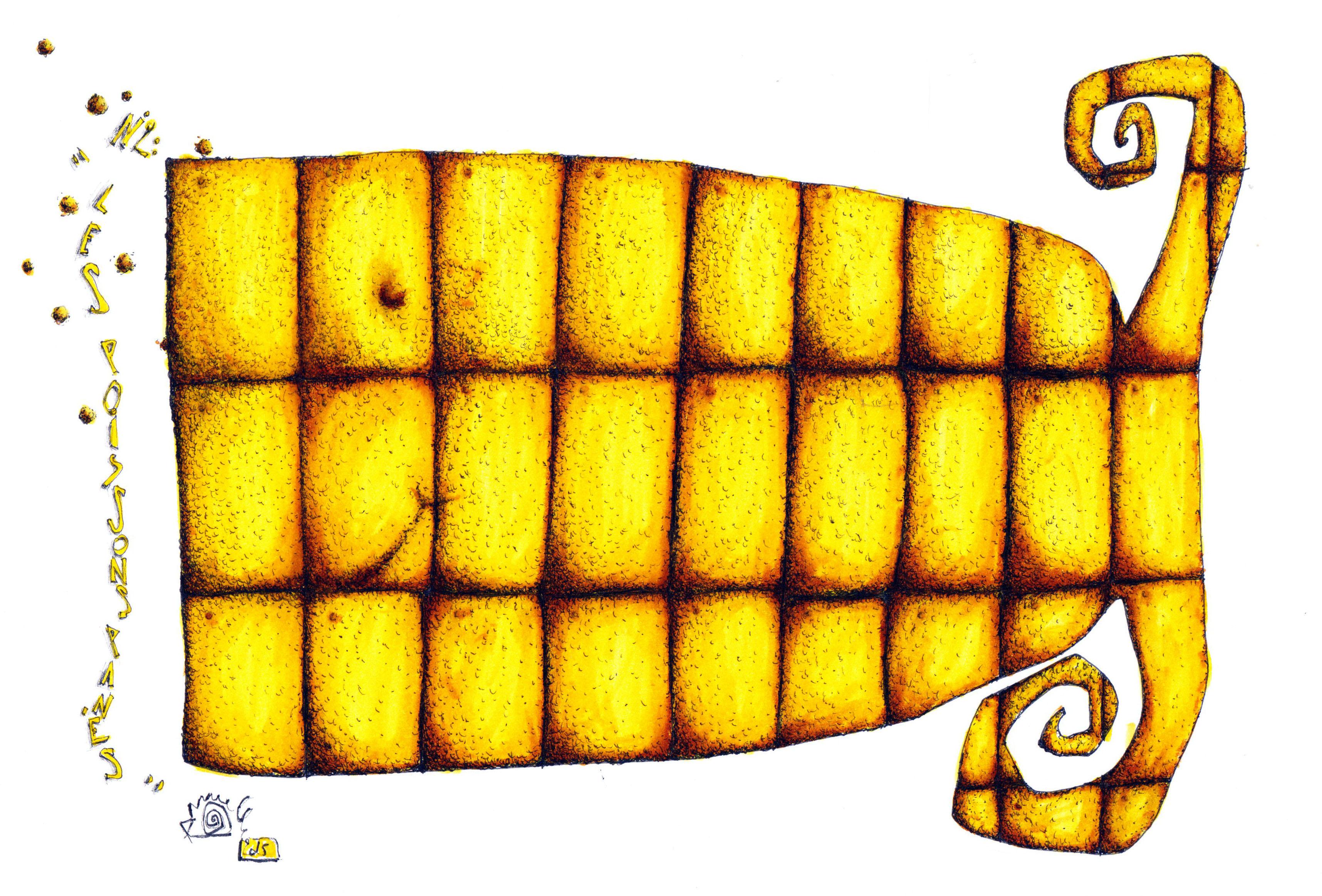Les poissons panés