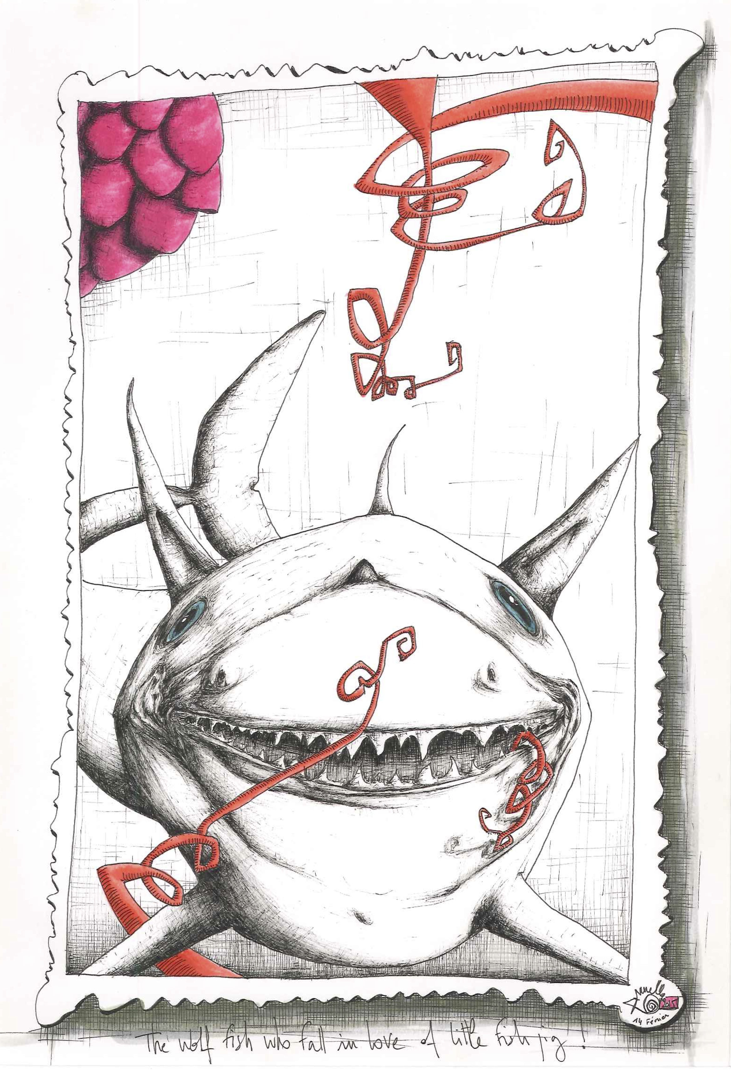 The wolf fish who fall...