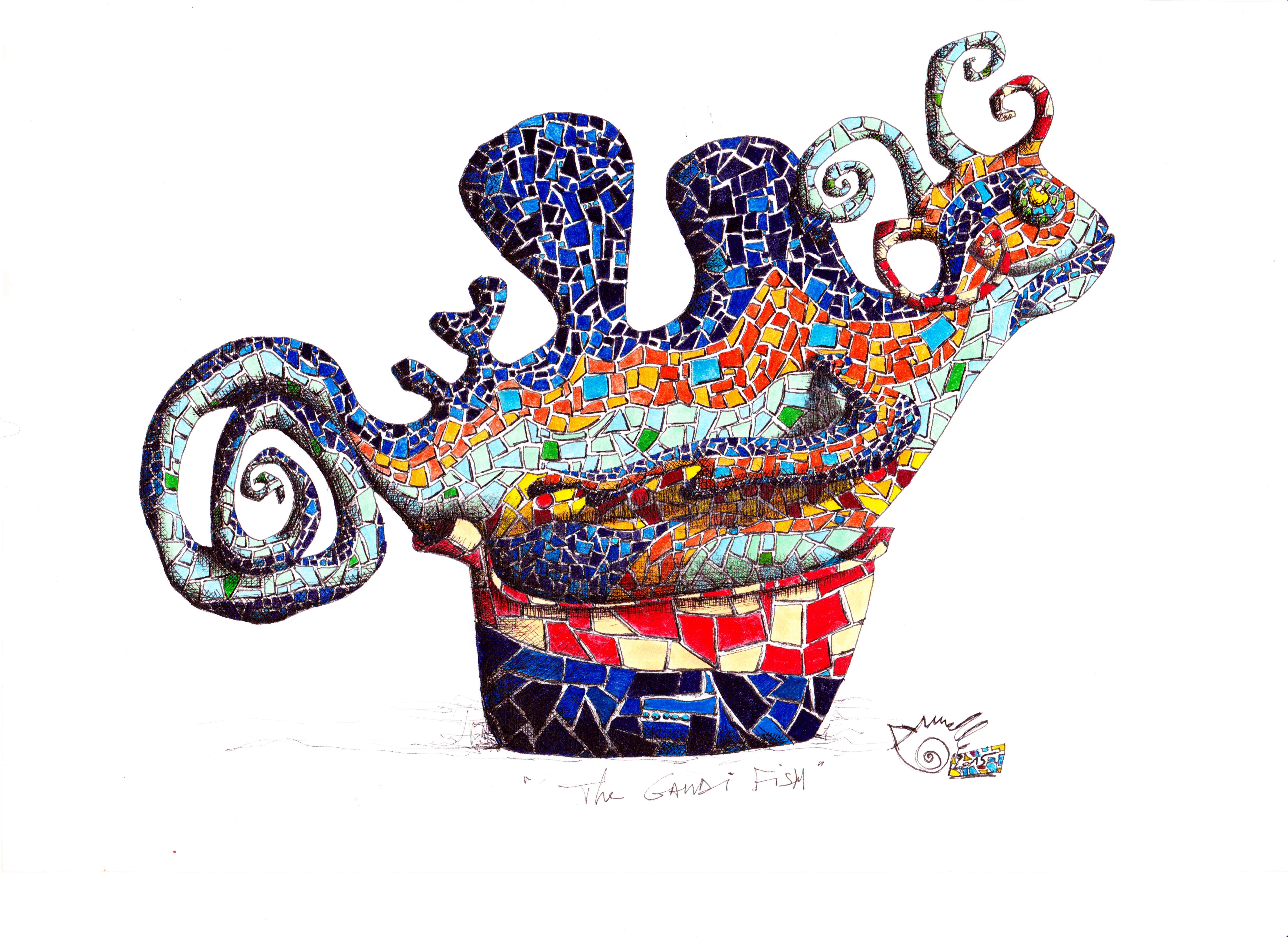 the gaudi fish