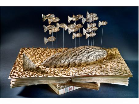 Sculpture Livres : Bertrand Runtz