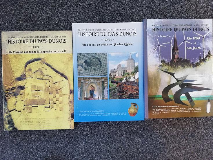 Histoire du pays Dunois - 3 tomes