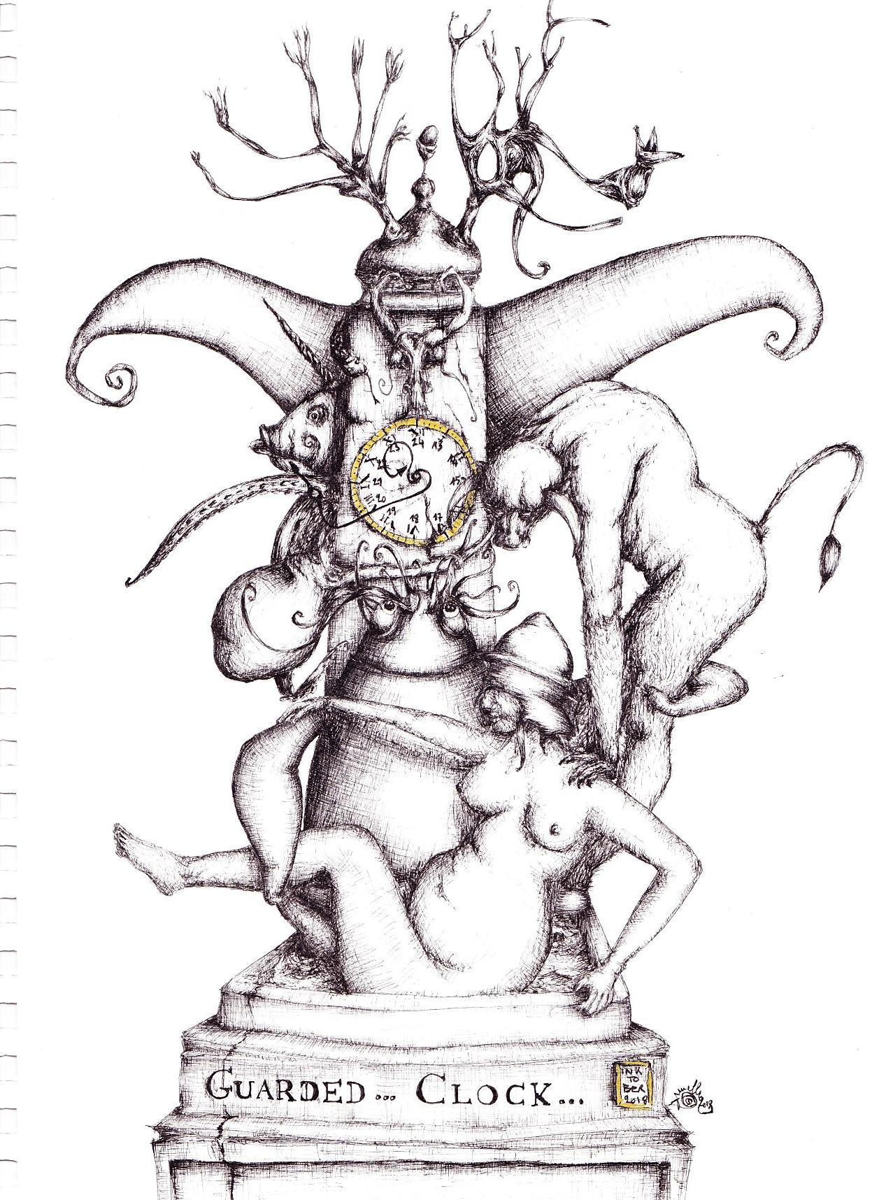 Guarder clock