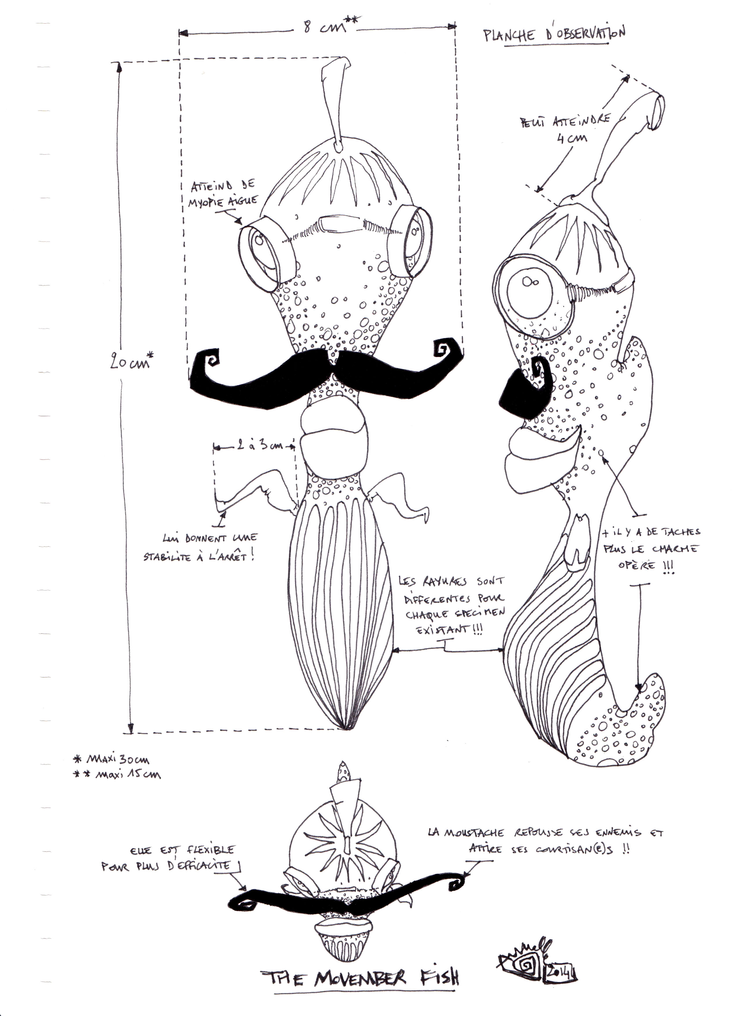 The movember fish