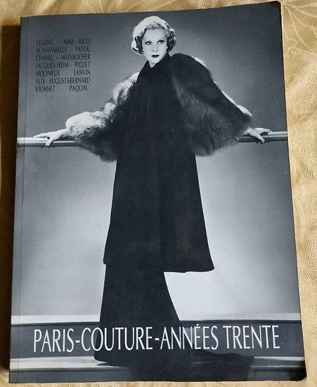 Garnier, Guillaume, PARIS, COUTURE, ANNÉES 30