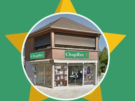 Chapitre 2 ouvre son kiosque à livres !