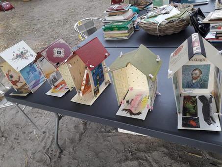 """""""La cabane des livres"""" : des images de notre atelier du 10 juillet avec Gaëlle Dufossé"""