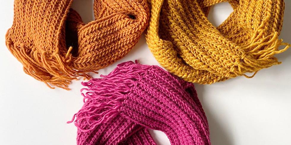 Wellness Workshop #4: Crochet a Scarf!