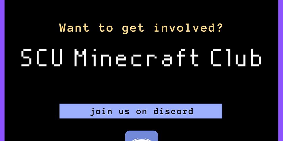 Register: SCU Minecraft Club