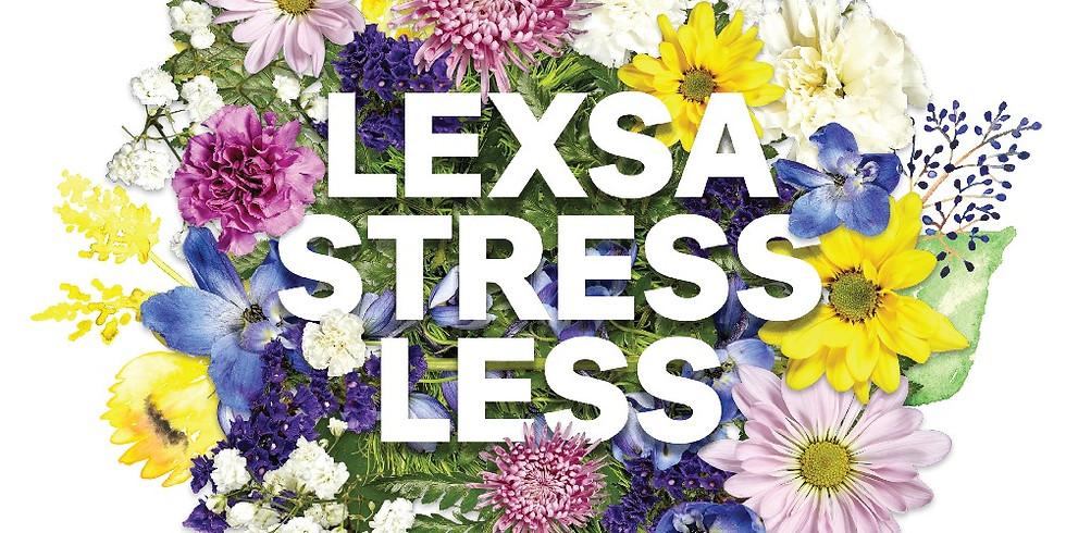 LEXSA Stress Less Week: Program!