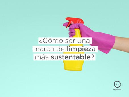 ¿Cómo ser una marca de limpieza más sustentable?