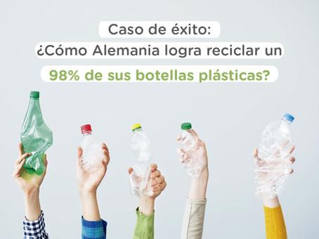 ¿Cómo Alemania logra reciclar el 98% de sus botellas plásticas?