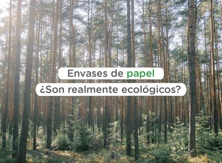 Envases de papel ¿son realmente ecológicos?