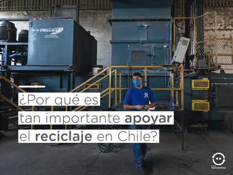 ¿Por qué es tan importante apoyar el reciclaje en Chile?