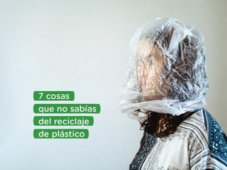 7 cosas que no sabías del reciclaje del plástico