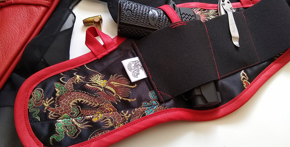 copy of Concealed Carry Thigh Holster - Chinese Dragon