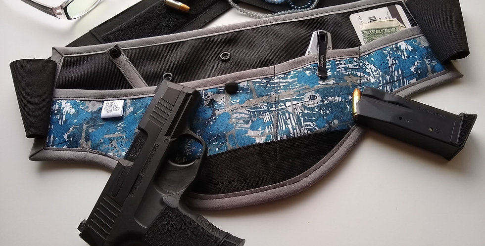 Concealed Carry Waist Holster - Paint splatter