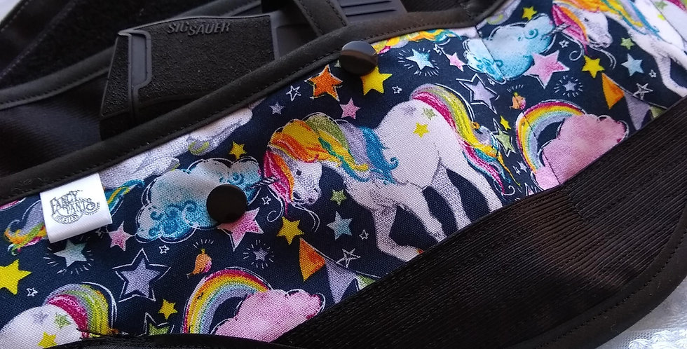Concealed Carry Waist Holster - Unicorns and Rainbows