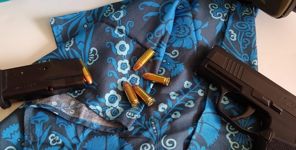 Range Bag Do Rag - Blue Carnation