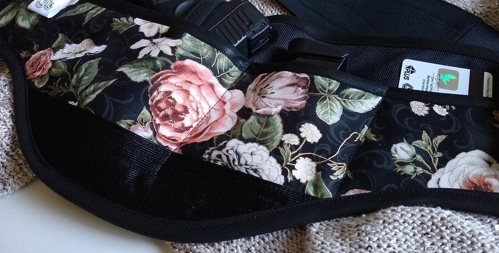 Concealed Carry Waist Holster - Antique Rose