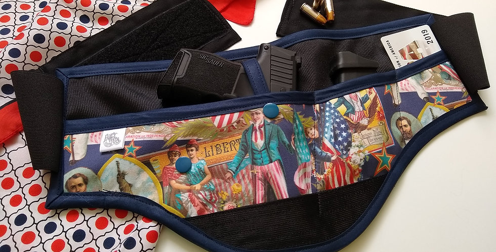 Concealed Carry Waist Holster - Americana