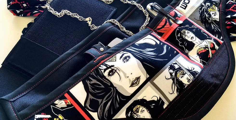 Concealed Carry Waist Holster - Wonder Woman