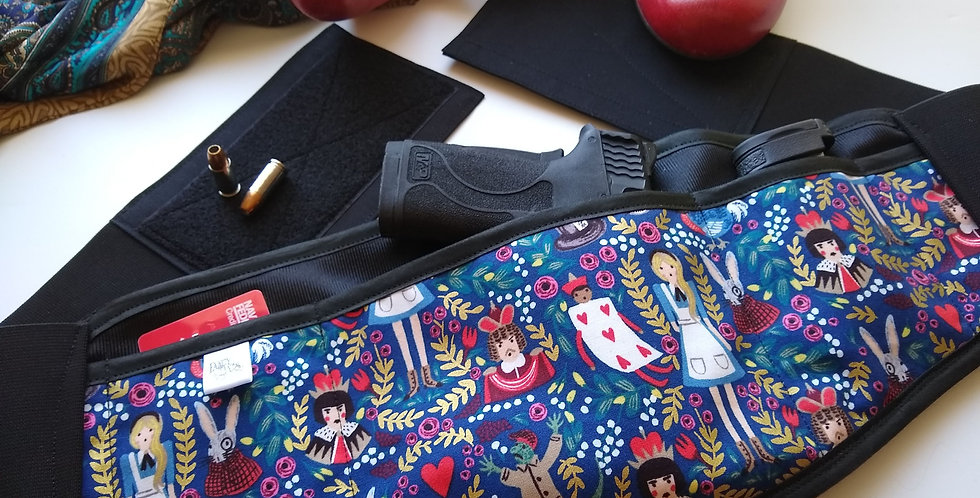 Corset Holster - Rifle Paper Co. Alice in Wonderland