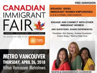 Canadian Immigrant Fair - April 26, 2018