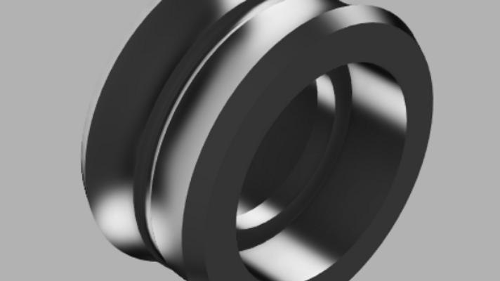 Titanium hybrid Roller Wheel (pair)