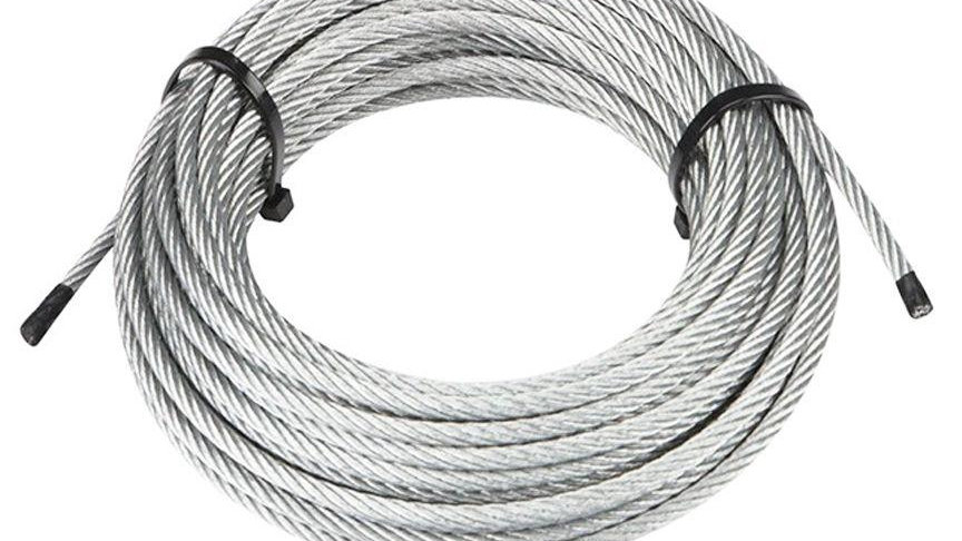 316 Steel Cable: 30 foot coil