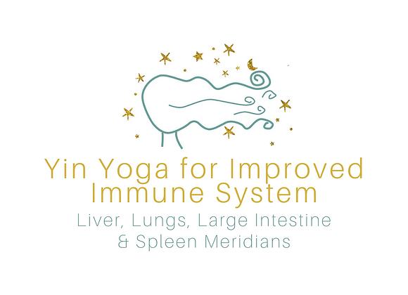 Yin Yoga for Improved Immune System