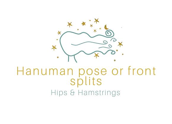 Hanumanasana or Front Splits