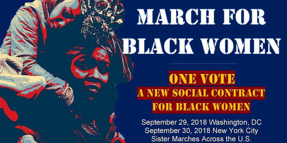 March for Black Women 2018