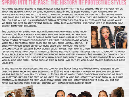 [The 411] Spring into the Past: The History of Protective Styles